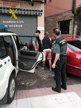 Detenido en la operación contra el tráfico de drogas llevada a cabo por la Guardia Civil en Sierra de Gata y Las Hurdes. www.sierradegatadigital.es