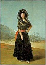 Cayetana de Silva Álvarez de Toledo en un retrato de Francisco de Goya. www.sierradegatadigital.es